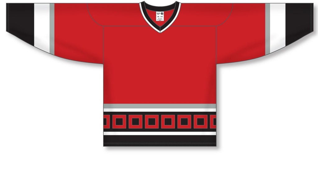 Athletic Knit (AK) H550B Carolina Hurricanes Red Hockey Jersey - PSH Sports
