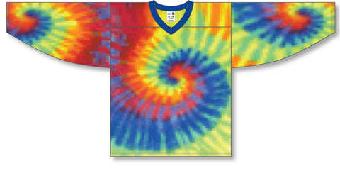 Image of Athletic Knit (AK) H550C Sublimated Tie Dye Hockey Jersey - PSH Sports