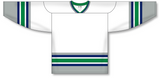 Athletic Knit (AK) H550A Hartford Whalers White Hockey Jersey - PSH Sports