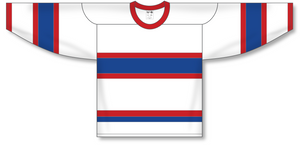 Athletic Knit (AK) H550A Montreal Canadiens Retro White Hockey Jersey - PSH Sports