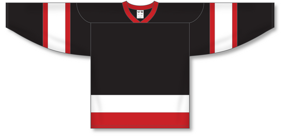 Athletic Knit (AK) H550A Ottawa Senators Black Hockey Jersey - PSH Sports