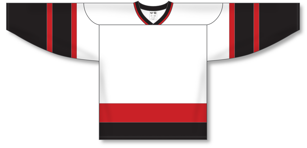 Athletic Knit (AK) H550A Ottawa Senators White Hockey Jersey - PSH Sports