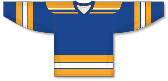 Athletic Knit (AK) H550A Classic St. Louis Blues Royal Blue Hockey Jersey - PSH Sports