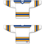 Athletic Knit (AK) H550A Classic St. Louis Blues White Hockey Jersey - PSH Sports