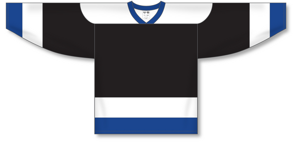 Athletic Knit (AK) H550A Tampa Bay Lightning Black Hockey Jersey - PSH Sports