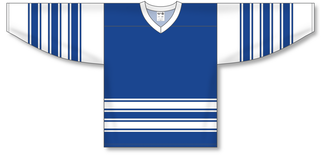 Athletic Knit (AK) H550A Classic Toronto Maple Leafs Royal Blue Hockey Jersey - PSH Sports