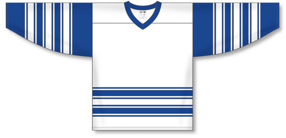Athletic Knit (AK) H550A Classic Toronto Maple Leafs White Hockey Jersey - PSH Sports