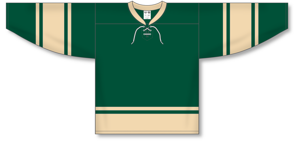 Athletic Knit (AK) H550B 2004 NHL All Stars Forest Green Hockey Jersey - PSH Sports