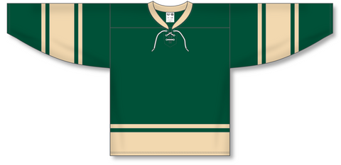 Image of Athletic Knit (AK) H550B 2004 NHL All Stars Forest Green Hockey Jersey - PSH Sports