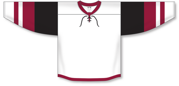 Athletic Knit (AK) H550B 2015 Arizona Coyotes White Hockey Jersey - PSH Sports