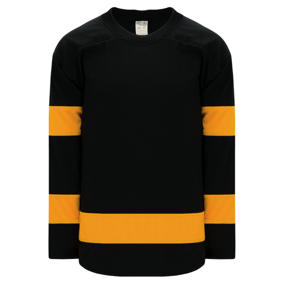 Athletic Knit (AK) H550BA-BOS293B Adult Boston Bruins Winter Classic Black Hockey Jersey