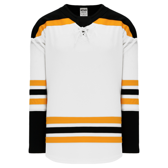 Athletic Knit (AK) H550BA-BOS397B Adult 2017 Boston Bruins White Hockey Jersey