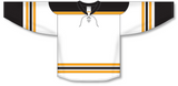 Athletic Knit (AK) H550B 2007 Boston Bruins White Hockey Jersey - PSH Sports