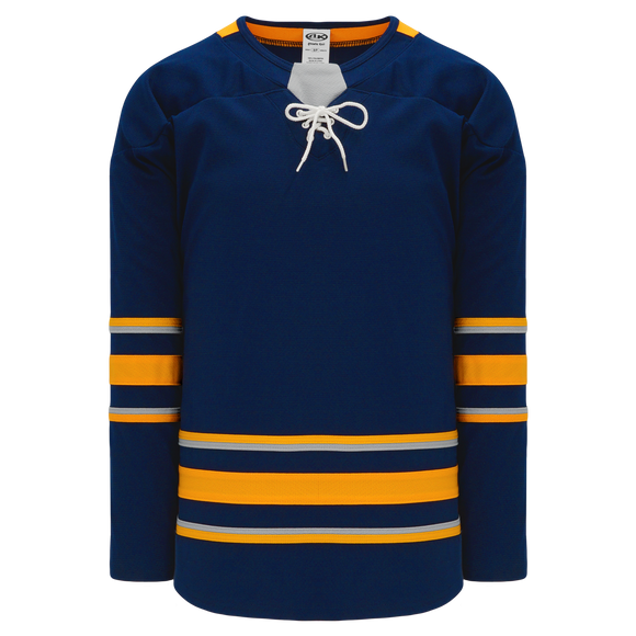 Athletic Knit (AK) H550BA-BUF692B Adult 2017 Buffalo Sabres Navy Hockey Jersey
