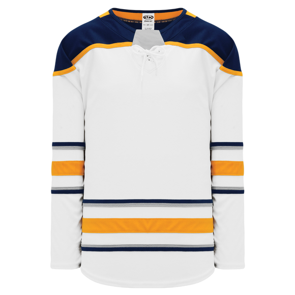 Athletic Knit (AK) H550BA-BUF693B Adult 2017 Buffalo Sabres White Hockey Jersey