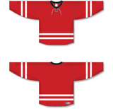 Athletic Knit (AK) H550B 2013 Carolina Hurricanes Red Hockey Jersey - PSH Sports