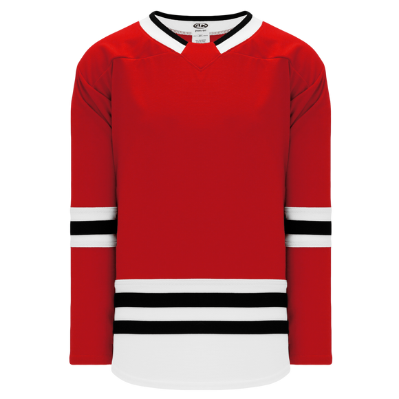 Athletic Knit (AK) H550B-CHI494B 2017 Chicago Blackhawks Red Hockey Jersey