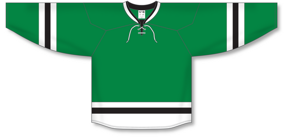 Athletic Knit (AK) H550B 2013 Dallas Stars Kelly Green Hockey Jersey - PSH Sports