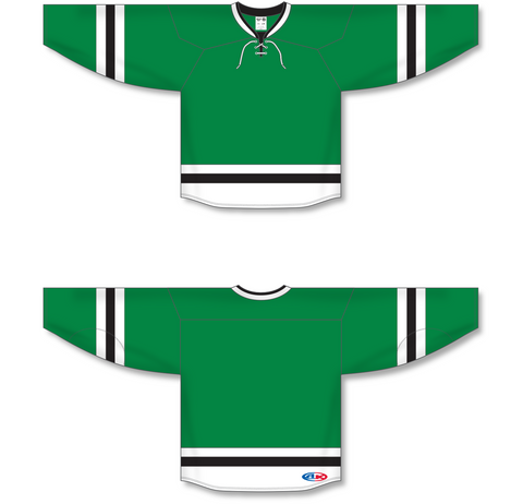 Image of Athletic Knit (AK) H550B 2013 Dallas Stars Kelly Green Hockey Jersey - PSH Sports