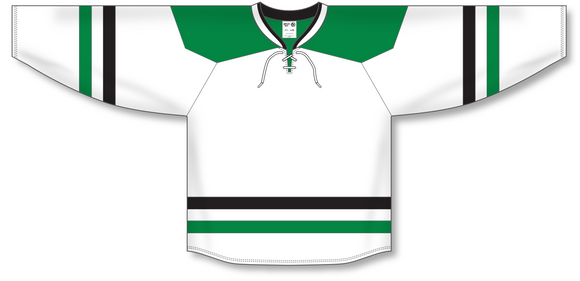 Athletic Knit (AK) H550B 2013 Dallas Stars White Hockey Jersey - PSH Sports