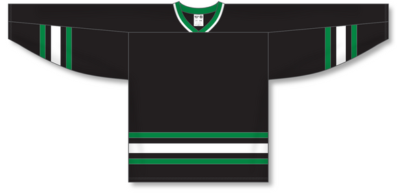 Athletic Knit (AK) H550B Dallas Stars Black Hockey Jersey - PSH Sports