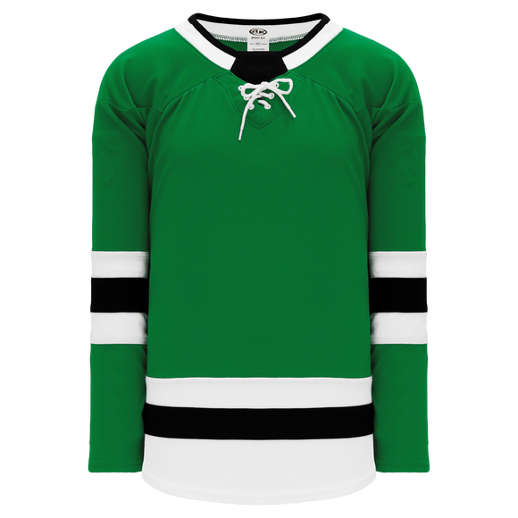 Athletic Knit (AK) H550BA-DAL823B Adult 2017 Dallas Stars Kelly Green Hockey Jersey