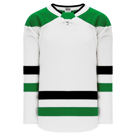 Athletic Knit (AK) H550BA-DAL824B Adult 2017 Dallas Stars White Hockey Jersey