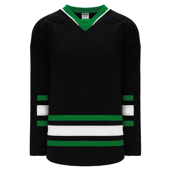Athletic Knit (AK) H550B-DAL893B New 1995 Dallas Stars Black Hockey Jersey