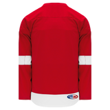 Athletic Knit (AK) H550B-DET492B 2007 Detroit Red Wings Red Hockey Jersey