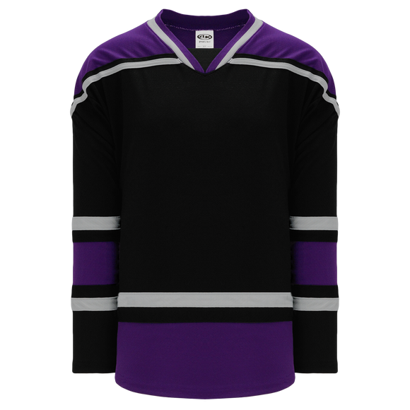 Athletic Knit (AK) H550BA-LAS880B New Adult 1998 Los Angeles Kings Black Hockey Jersey
