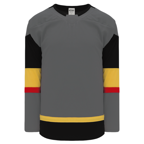 Athletic Knit (AK) H550BA-LAV394B Adult 2017 Las Vegas Golden Knights Charcoal Hockey Jersey