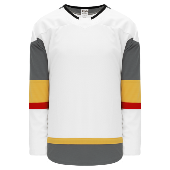 Athletic Knit (AK) H550B-LAV395B 2017 Las Vegas Golden Knights White Hockey Jersey