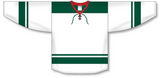 Athletic Knit (AK) H550B 2013 Minnesota Wild White Hockey Jersey - PSH Sports