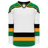 Athletic Knit (AK) H550BA-MIN865B New Adult 1988 Minnesota North Stars White Hockey Jersey