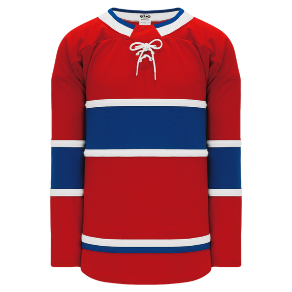 Athletic Knit (AK) H550B-MON782B 2017 Montreal Canadiens Red Hockey Jersey