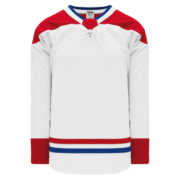 Athletic Knit (AK) H550BA-MON783B Adult 2017 Montreal Canadiens White Hockey Jersey