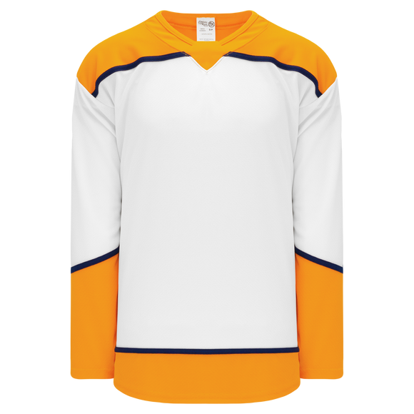 Athletic Knit (AK) H550B-NAS676B 2017 Nashville Predators White Hockey Jersey