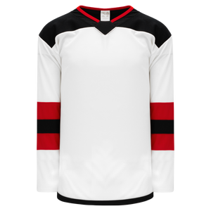 Athletic Knit (AK) H550B-NJE867B 2017 New Jersey Devils White Hockey Jersey