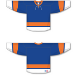 Athletic Knit (AK) H550B 2010 New York Islanders Royal Blue Hockey Jersey - PSH Sports