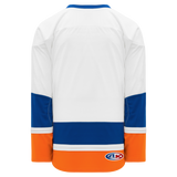 Athletic Knit (AK) H550B-NYI491B 2010 New York Islanders White Hockey Jersey
