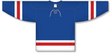 Athletic Knit (AK) H550B New York Rangers Classic Royal Blue Hockey Jersey - PSH Sports