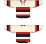 Athletic Knit (AK) H550B Ottawa Senators Heritage Classic Sand Hockey Jersey - PSH Sports