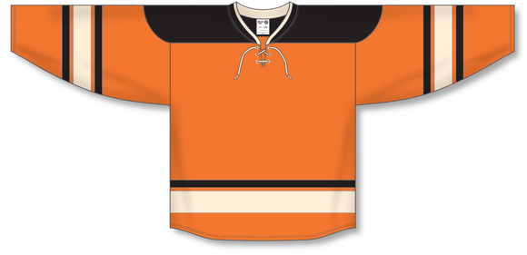 Athletic Knit (AK) H550B 2012 Philadelphia Flyers Winter Classic Orange Hockey Jersey - PSH Sports