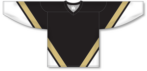 Athletic Knit (AK) H550B New Pittsburgh Penguins Third Black Hockey Jersey - PSH Sports