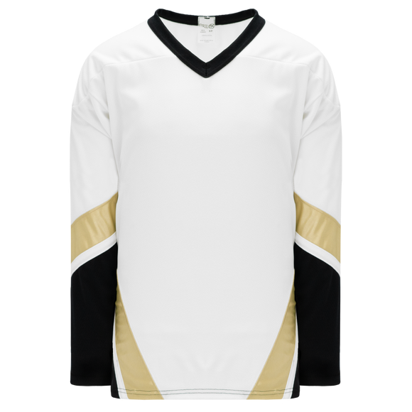 Athletic Knit (AK) H550BY-PIT515B New Youth Pittsburgh Penguins Third White Hockey Jersey