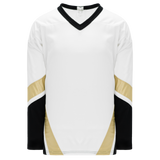 Athletic Knit (AK) H550B-PIT515B New Pittsburgh Penguins Third White Hockey Jersey