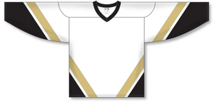 Athletic Knit (AK) H550B New Pittsburgh Penguins Third White Hockey Jersey - PSH Sports