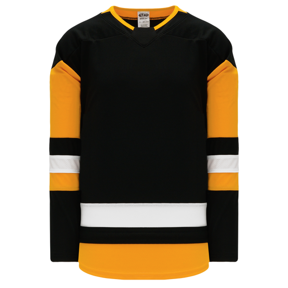 Athletic Knit (AK) H550B 2017 Pittsburgh Penguins Black Hockey Jersey