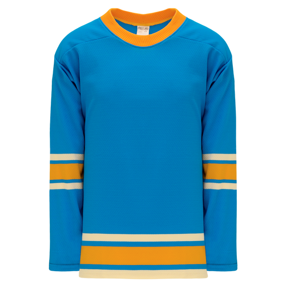 Athletic Knit (AK) H550B 2016 St. Louis Blues Winter Classic Blue Hockey Jersey