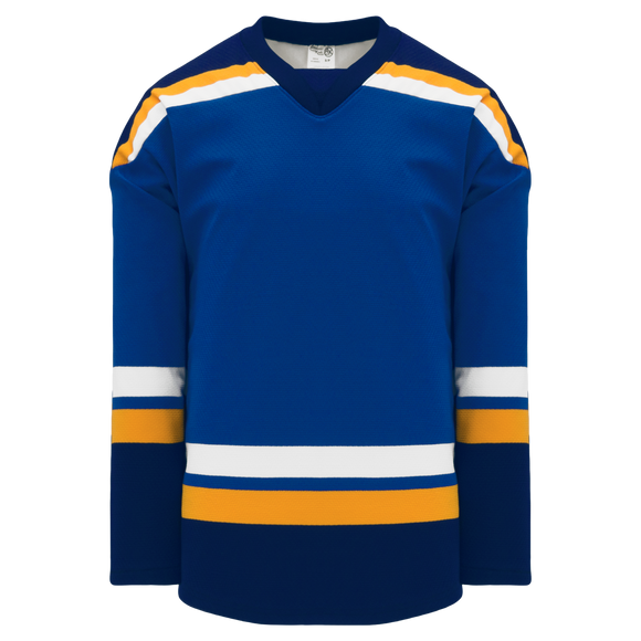 Athletic Knit (AK) H550B 2014 St. Louis Blues Royal Blue Hockey Jersey